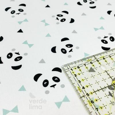 Panda - White and Mint