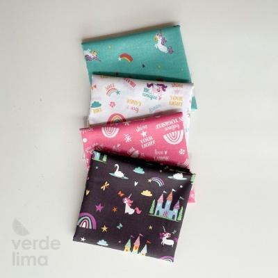Pack de tecidos - Unicorn Kingdom
