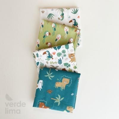 Pack de tecidos - Rei da Selva