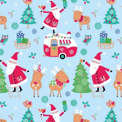 Santa Reindeer - scene multi