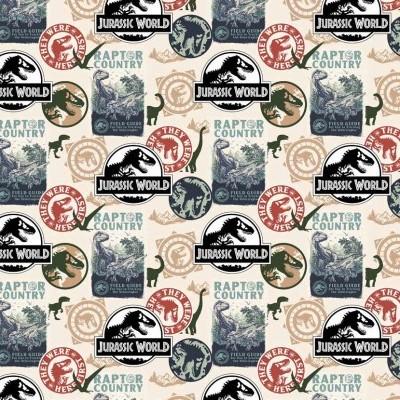 Jurassic park - Dinosaurs Stamps
