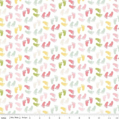 Sweet Baby Girl - Feet multi pink