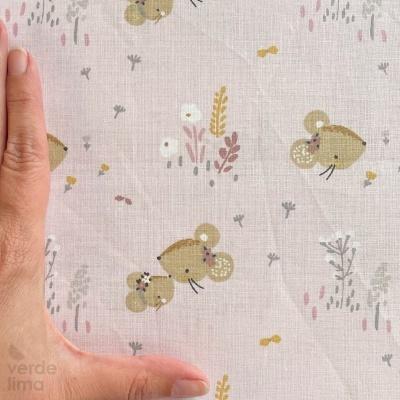 Baby Mouse - Ratinho fundo rosa