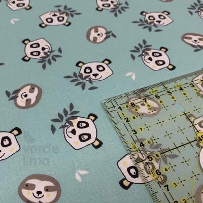 Baby panda - faces mint