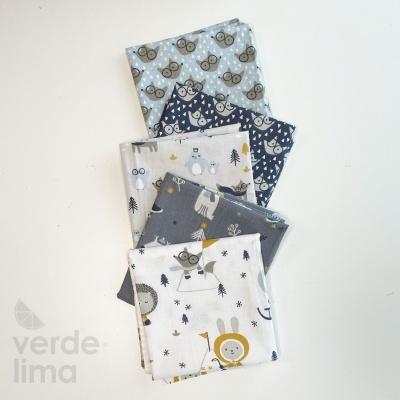 Pack de tecidos - Winter fox