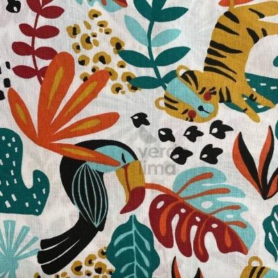 Tropical Jungle - Fundo Branco