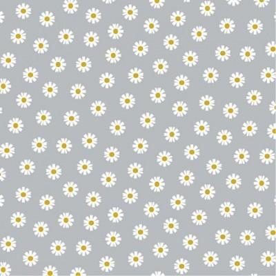 Daisy Flower - cinzento