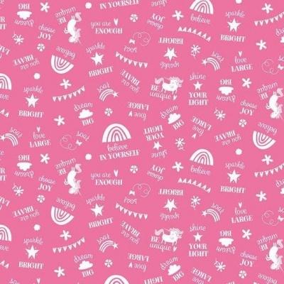 Unicorn Kingdom - Be You Hot Pink