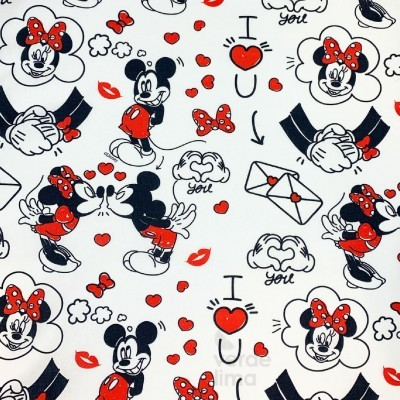 Mickey e Minnie - I love you