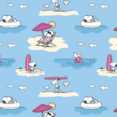 Snoopy - Day at the beach