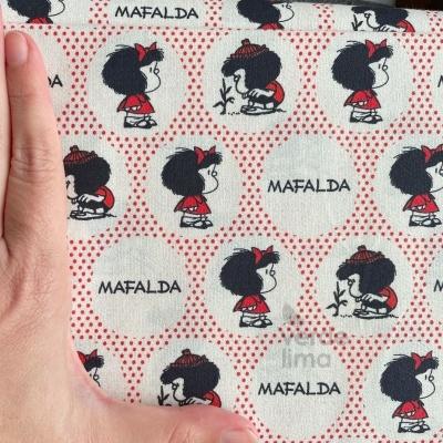 Mafalda - pintas vermelhas