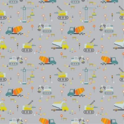 Construction Vehicles - Cinzento
