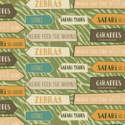 Signature Safari - Placas