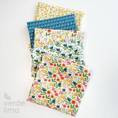 Pack de tecidos - Happy