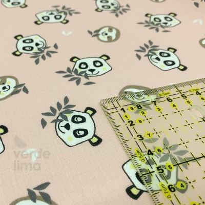 Baby panda - faces pink
