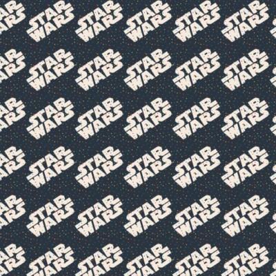 Star Wars - Logo navy