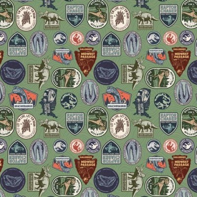 Jurassic park - Dinosaurs Tags Green