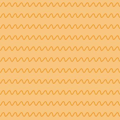 Selva Colorida - ondas laranja
