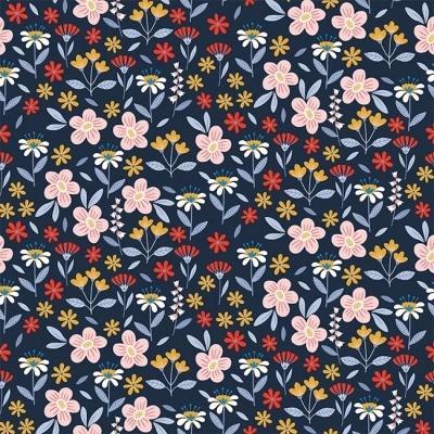Flowers Buzz - Azul Marinho