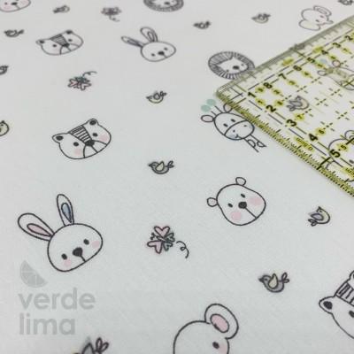 Sweet animals  - Fundo Branco