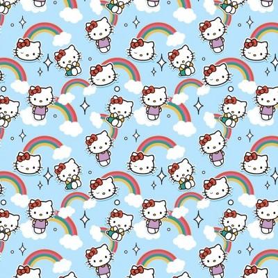 Hello Kitty - Blue Rainbow
