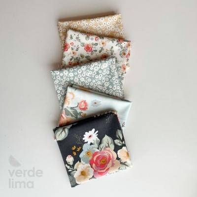Pack de tecidos - Gingham Gardens