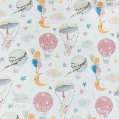 Coelhinhos e balões