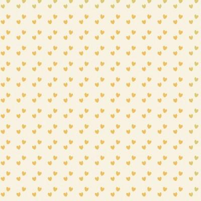 Basics and Colors - Mini corações amarelo