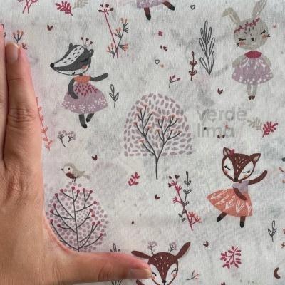 Pack de tecidos - Princesas do bosque