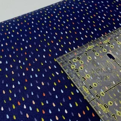 Colorful Drops - Azul Marinho