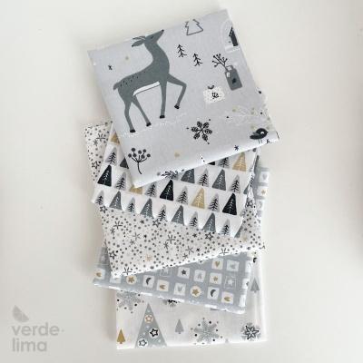 Pack de tecidos - Nordic Christmas