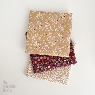 Pack de tecidos - Fall Leaves