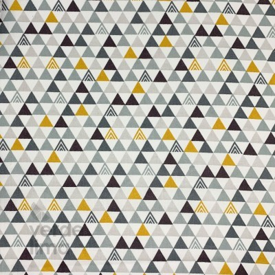 Dino triângulos - cinzentos