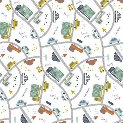 Traffic Cars - Branco