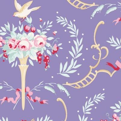 Tilda - Old Rose - Birdsong Blue