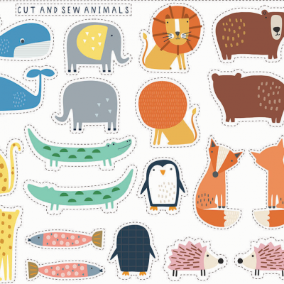 Habitat - Cut and sew animals