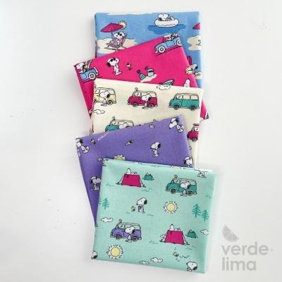 Pack de tecidos - Snoopy