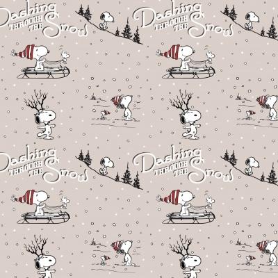Snoopy - Dashing through the Snow