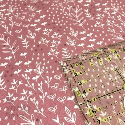 Winter friends - leaves pink
