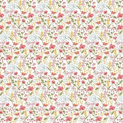 Algodão orgânico - Flower fundo branco