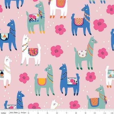 Llamas - pink