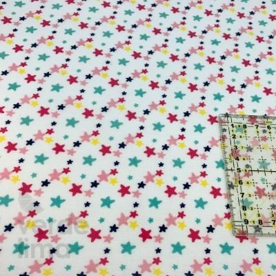 Estrelas coloridas (plastificado)