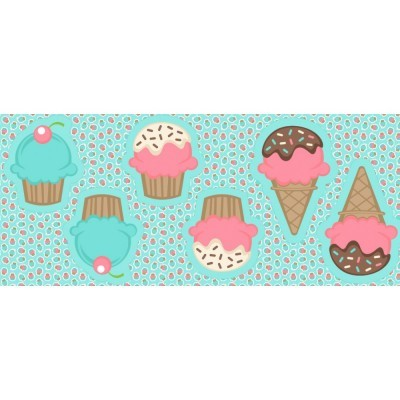 Pillows - Cupcakes e gelados