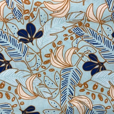 Blue leaves - main