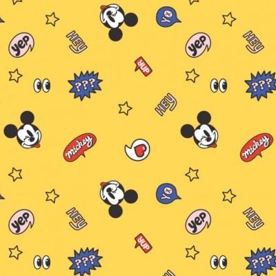 Its a mickey thing - balões fundo amarelo