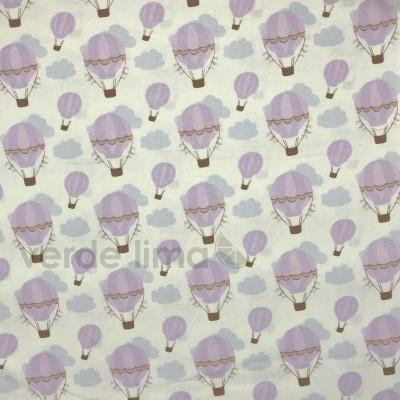 Balões Anita Catita - balões em lilás