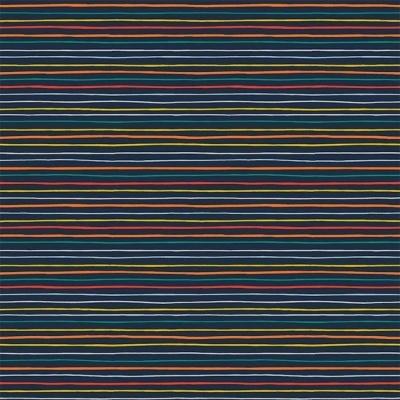 Stripe and Space - Stripes Azul Marinho