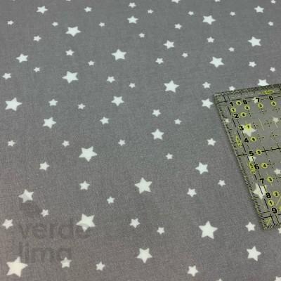 Estrelas fundo cinzento (plastificado)