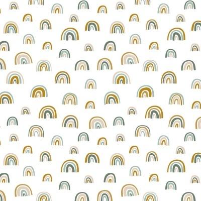 Rainbow - Branco com verde