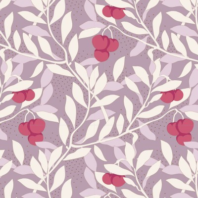 Maple Farm - cherrybush mauve